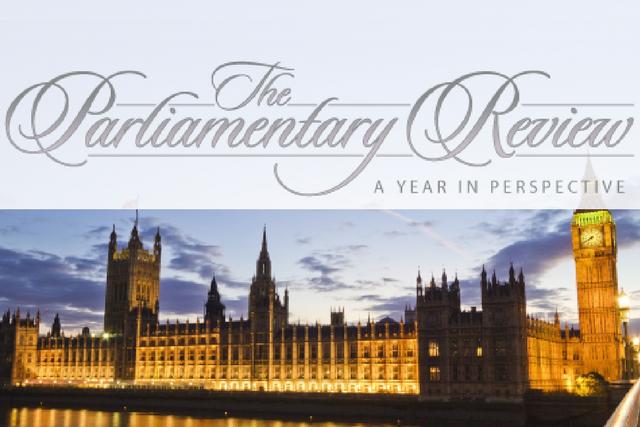 Parliamentary Review Blog