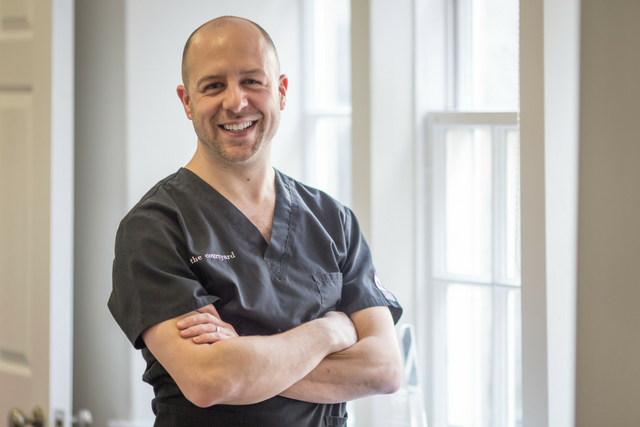 Marcos White, practice owner and lead cosmetic dentist at The Courtyard.